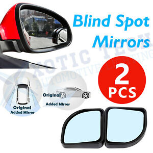 Set Blind Spot Fan Shaped Auxiliary Convex Rear View Adjustable Angle Mirrors