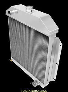 Champion 4 Row All Aluminum Radiator 49 50 51 52 53 Ford Cars Gm Chevy Engine