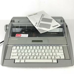 Brother Sx 4000 Electronic Typewriter Works Great Includes Manual