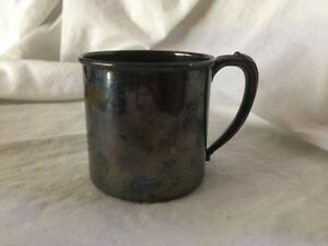 Tudor Plate Pattern Baby Cup Oneida Community