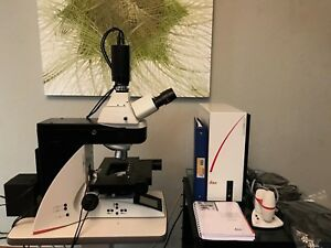 Leica Dm5500 B Microscope Life Science Research Great Price