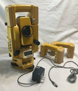 Topcon Total Station Gts 3b Complete Conventional Surveying System