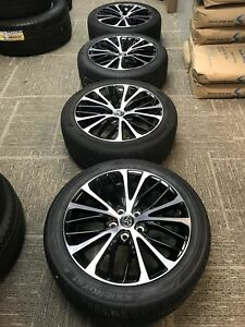 18 Toyota Camry 2018 Oem Wheels Rims Tires 2014 2015 2016 2017 Rav4 Avalon Chr
