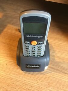 Honeywell Metrologic Sp5500 Data Collector Scanner And Cradle