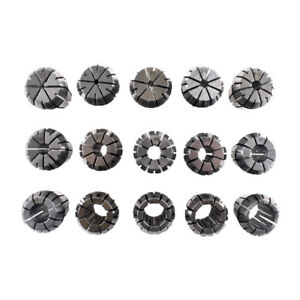 15pcs Er25 Collet Set 2mm To 16mm For Cnc Milling Lathe Tool And Spindle
