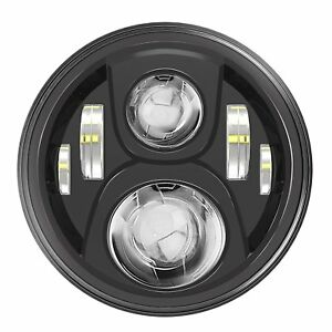Daymaker 7 Inch Motorcycle Led Headlight Hi lo Beam For Harley Davidson Touring