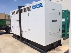 Cummins M11 Diesel Generator Set 230 Kw 480v Sa Enclosed
