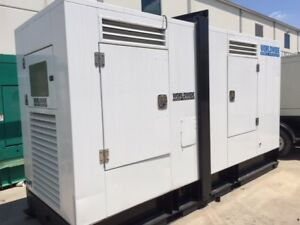 Cummins M11 g2 Diesel Generator Set 250 Kw 480v Sa Enclosed