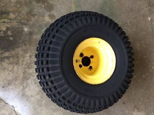 John Deere Gator Amt 600 622 626 Tire And Wheel 4 lug Used 04 18