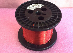 Magnet Copper Wire 26 Awg Snylz155 4 3 4 Pound Spool Magnetic Coil Winding