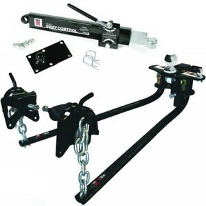 48069 Camco Eaz lift Weight Distributing Hitch Kit 2 5 16 Ball With 12000lb Gtw