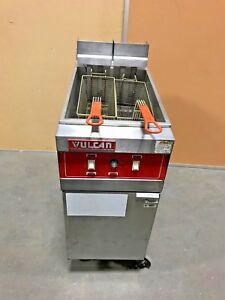 Vulcan Commercial Deep Fryer Electric 1erd50 Good Working Condition