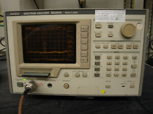 Anritsu Ms2601a Spectrum Analyzer ott