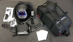New 3m Speedglas 9100 Fx Welding Helmet With Adflo Respirator Belt