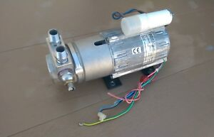 Made In Italy Fluid o tech Pump And 230v 50 60hz Motor