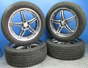 20 Lenso Wheels Rims W Goodyear Eagle Gt Ii Radial Tubeless P275 45r 20 Tires