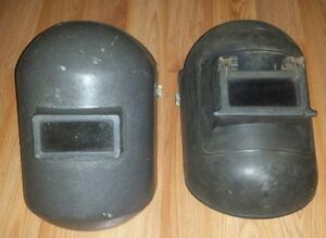 Vintage 2 Pc Jackson Welding Helmet Lot