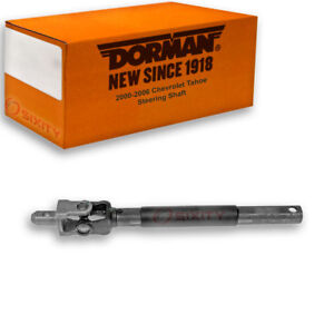 Dorman Upper Intermediate Steering Shaft For Chevy Tahoe 2000 2006 5 3l 4 8l Cz