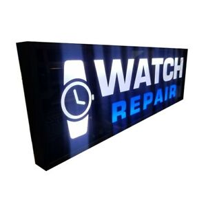 Watch Repair Sign led Light Box Sign