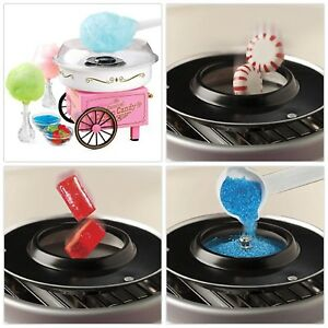 Hard Sugar free Candy Cotton Candy Maker Tabletop Countertop Carnival Machine