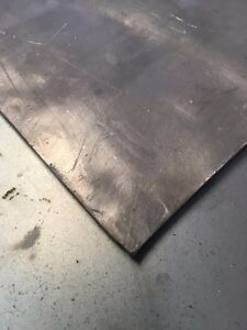 Sheet Lead 1 8 X 12 X 24 App 16 Pounds Of 99 9 Pure Lead