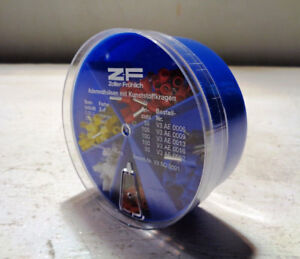 Zf Zoller Frohlich 400 Pc Insulated Ferrule Assorted Kit V3so0001 Lot Of 4