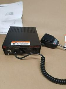 new Federal Signal Corporation Pa300 Series Electronic Siren W Microphone
