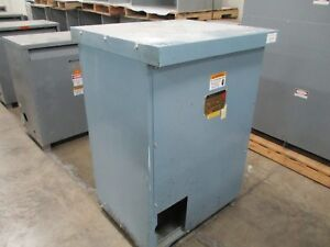 Jefferson Electric Dry type Transformer 223 3314 Pri 480v Sec 208y 120v 60hz