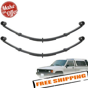 Pro Comp Front Left Right 4 Lifted Leaf Springs For 1980 1985 Toyota 4runner