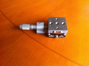 Newport 461 x Stage ultralign With 12 Mm Travel Micrometer