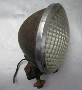 Vintage Do ray Lamp Co 510 Tractor Early Fender Lamp Light Rat Rod Hot Rod
