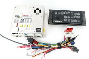 Whelen Cencom Gold Amplifier Relay Module W Traffic Advisor Control Head