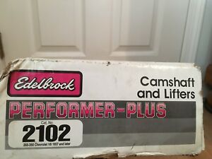 Edelbrock 2102 Small Block Chevy Engine Camshaft And Lifter Kit Performer Plus