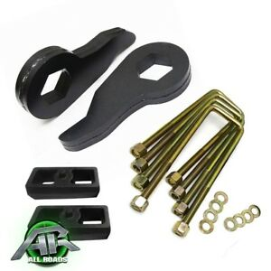 1992 1999 Chevy Suburban 1500 Full Leveling Lift Kit 3 Front 1 5 Rear 4wd