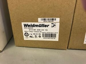 new In Box Weidmuller Power Supply Switch Mode Power Supply Unit 24v