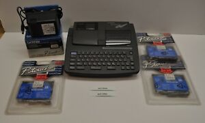 Brother P touch Extra Pt 520 Electronic Thermal Label Maker With Tapes