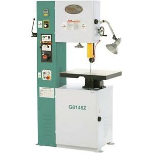 G8146z 15 3 4 Vs Vertical Metal cutting Bandsaw With Inverter