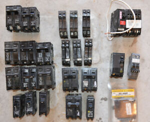 Assorted Circuit Breakers 26 Pieces Murray Ge Hd Home Others