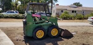 John Deere Skid Steer Loader Bobcat