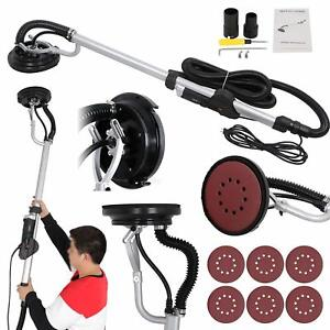800w Portable Electric Drywall Sander Vacuum Adjustable Speed Durable Heavy Duty
