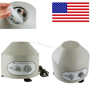 110v 25w Electric Lab Centrifuge Machine 4000rpm Lab Medical Practice