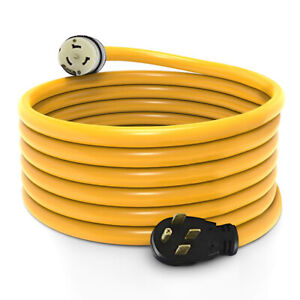 15 Foot Generator Power Cord 50 Amp 14 50p To Cs 6364 Locking Connector New