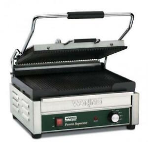 Waring Wpg250 Large Panini Grill In Store Pickup Only In Nyc No Delivery