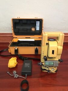 Topcon Gts 301 Series Total Station Survey Equipment