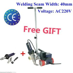 Ac220v Roofer Rw3400 Automatic Roofing Hot Air Welder 40mm Nozzle With Free Gun
