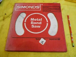 Simonds Usa Band Saw Blade Coil Stock Metal Cutting 1 2 X 025 X 10t X 100ft