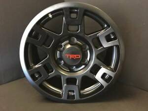 Extra Wide 17x8 Trd Pro Sema Style Wheels For Tacoma 4runner Fj Cruiser Tundra
