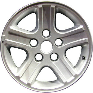 Oem Reman 17x8 Alloy Wheel Rim Bluish Charcoal Painted With Machined Face 2265