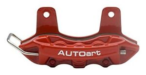 Autoartdesign Brake Caliper Name Card Holder Holder Red Finished Product