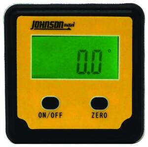 Johnson Level Tool 1886 0000 Magnetic Digital Angle Locator